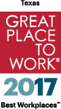 Texas Great Place to Work 2017